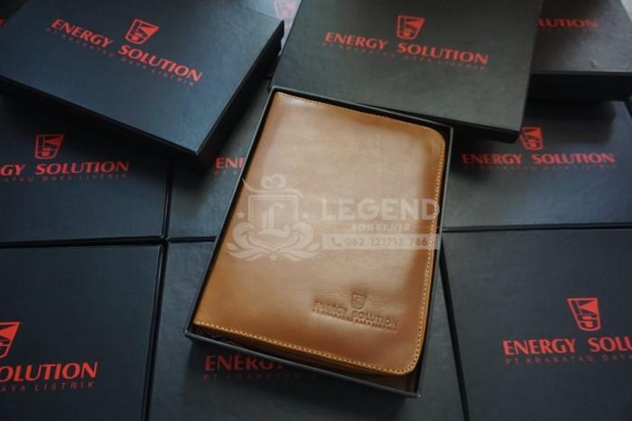 souvenir binder kulit premium