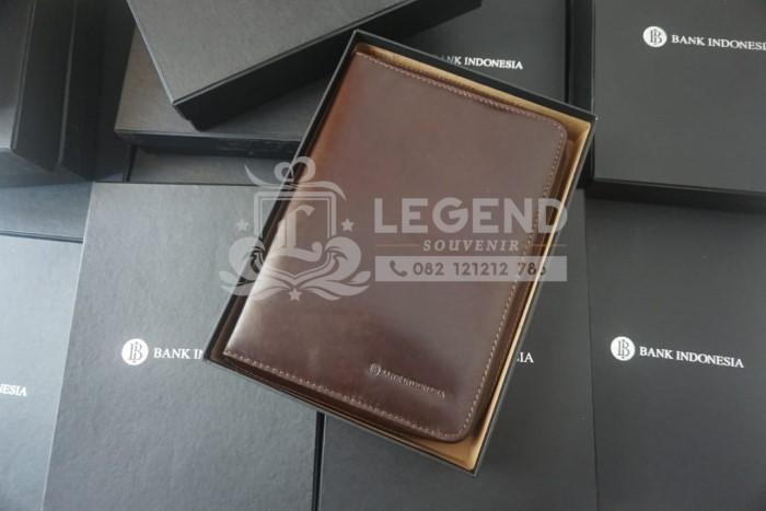 Binder kulit asli untuk hadiah seminar