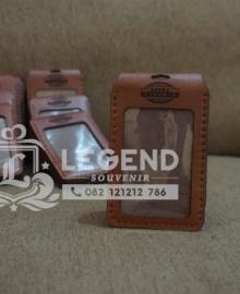Jual Id Card Kulit Tali Pesanan Bank BNI Custom