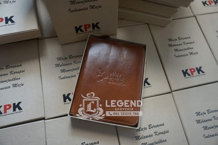 binder kulit a5 hadiah untuk souvenir kpk