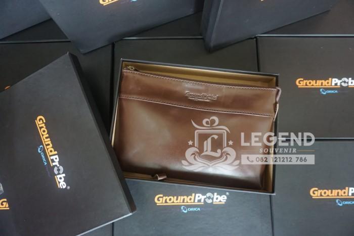 Dompet clutch kulit asli dari Vendor Pengadaan Barang Alat Tulis Kantor