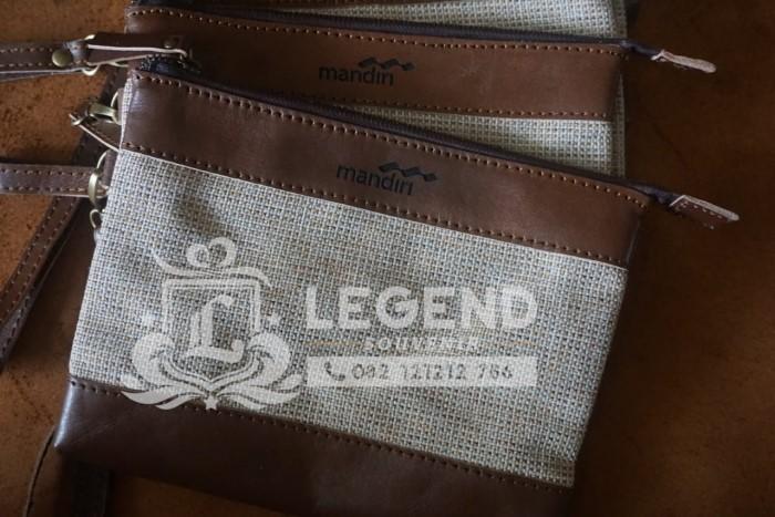 Produsen Souvenir Eksklusif di Surabaya tas clutch kulit goni