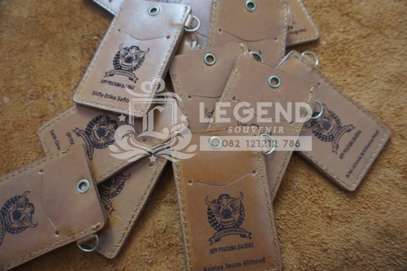 souvenir kantor ketapang id card kulit