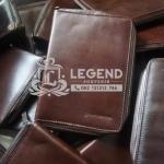 binder kulit untuk souvenir bank indonesia