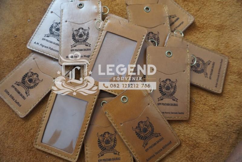 souvenir depok id card kulit