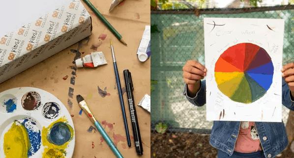 alat melukis anak