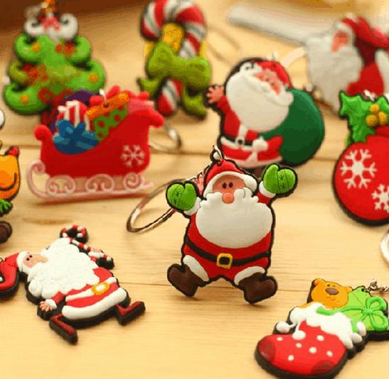 gantungan kunci natal