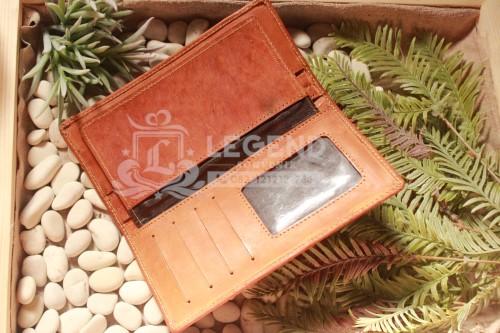 dompet kulit asli souvenir khas bandung