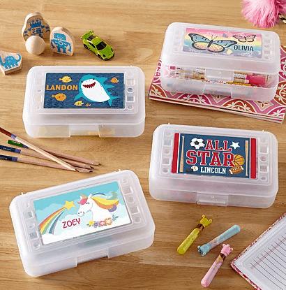 souvenir ulang tahun anak kotak set pensil warna
