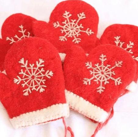 sarung tangan natal