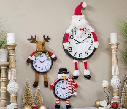 souvenir jam dinding natal